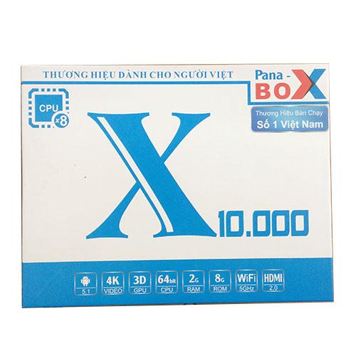 Tivi box Pana Box X10.000 4k unltra HD, Ram 2GB, Rom 8G