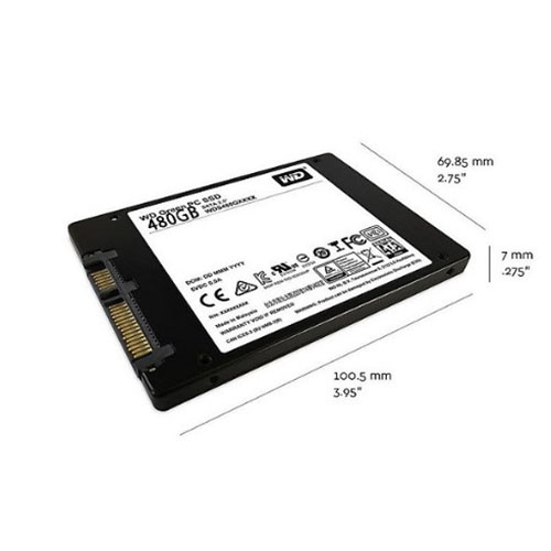 Ổ cứng SSD WD Green 480GB 2.5 inch Sata 3